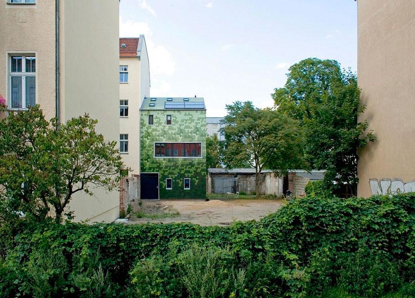 Пристройка к дому в Берлине