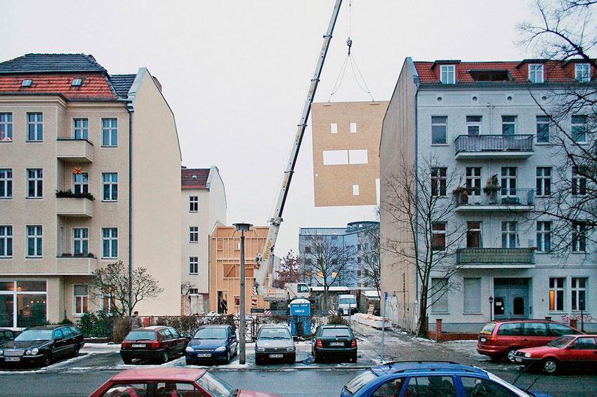 Как в Берлине строят дом