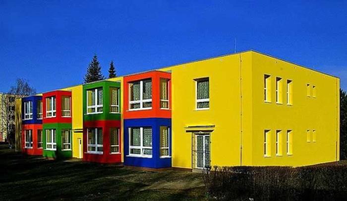 Цветовое решение фасада частного дома фото