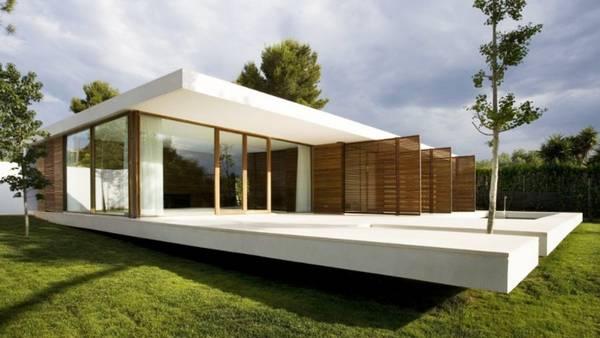 красивые современные одноэтажные дома, фото 14