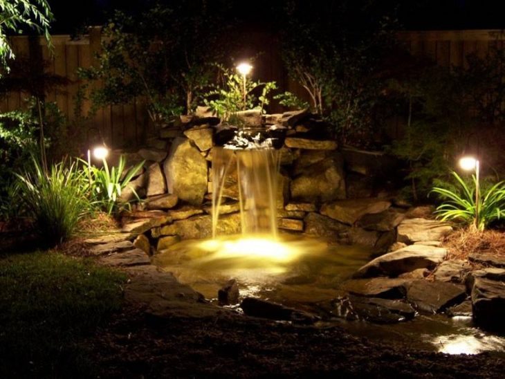 Освітлення заміського будинку 75 фото дизайну ділянки