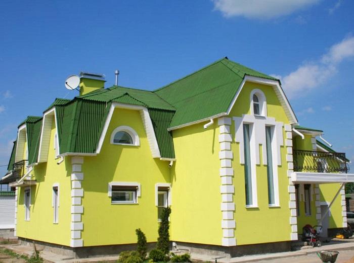 Как подобрать цвет фасада дома