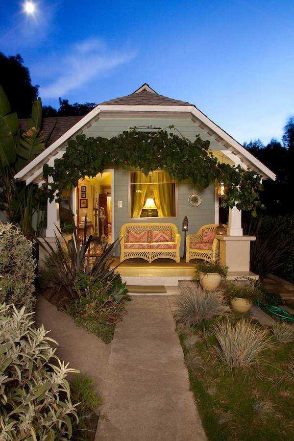 красивые одноэтажные дома с террасой фото, фото 76