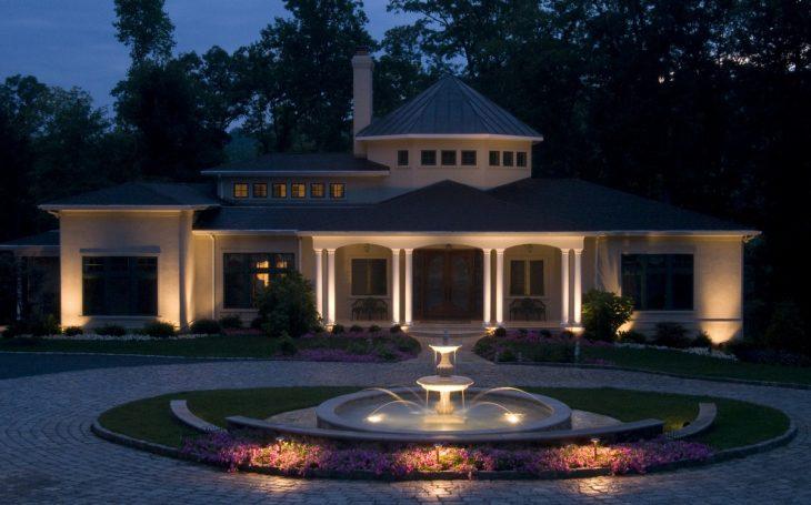 зовнішнє освітлення будинку