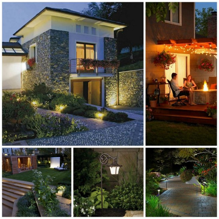 освітлення приватного будинку фото