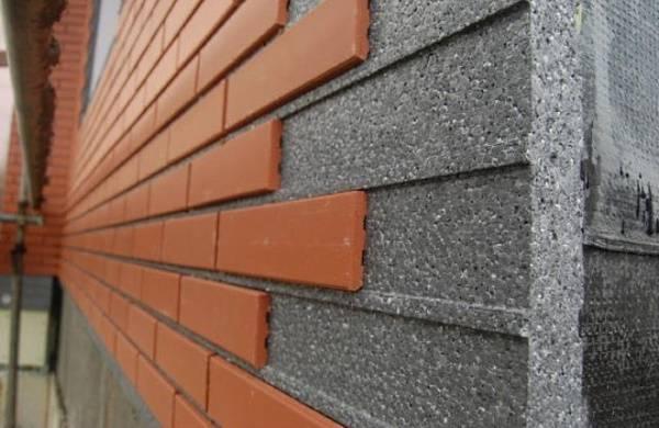 Клинкерная плитка и утеплитель для отделки фасада