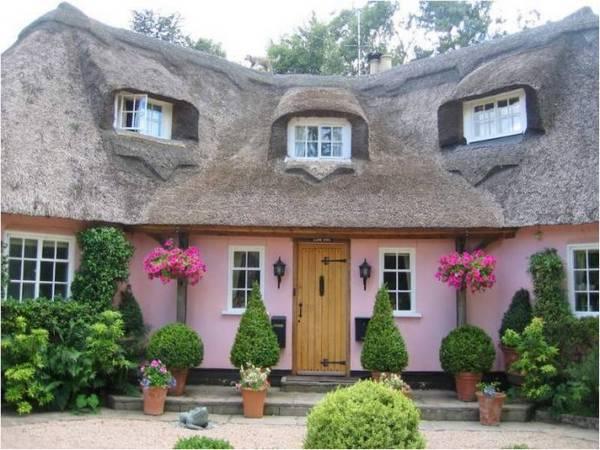 красивые фасады одноэтажных частных домов фото, фото 10