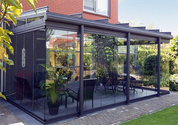 Стеклянная веранда пристроенная к дому фото 2
