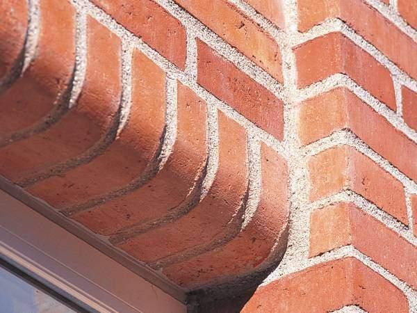 Облицовочный кирпич для фасада - варианты отделки домов
