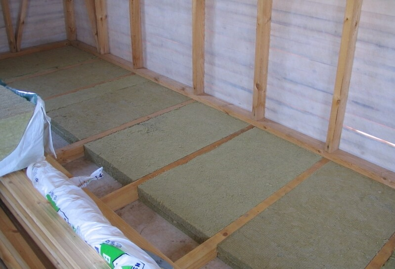 Утеплення підлоги в дерев'яному будинку