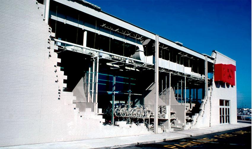 Фасады для сети выставочных залов Best