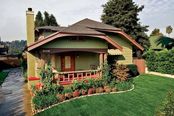 красивые одноэтажные дома проекты фото, фото 43