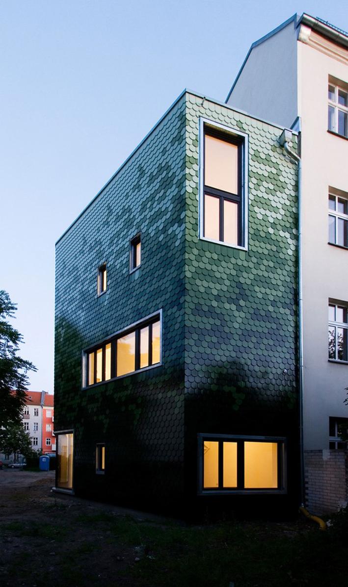 Монтаж фасада в Берлине
