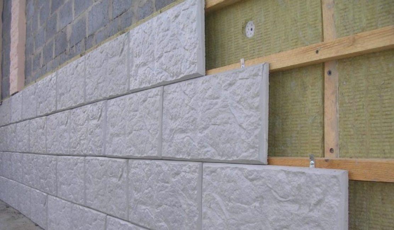 Виготовлення вентильованого фасаду з бетонної плитки