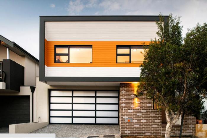 Дизайн фасада загородного дома фото